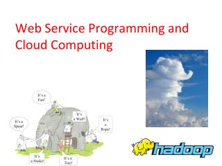 Web Service Programming and Cloud Computing