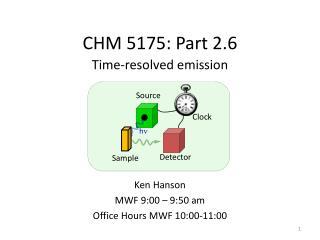 CHM 5175: Part 2.6