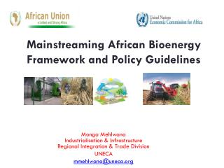 Mainstreaming African Bioenergy Framework and Policy Guidelines