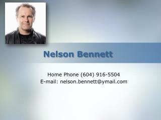 Nelson Bennett