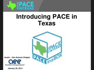 Introducing PACE in Texas