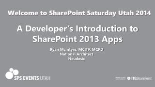 A Developer's Introduction to SharePoint 2013 Apps