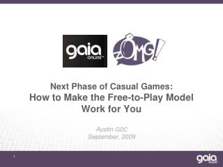 Next Phase of Casual Games: How to Make the Free-to-Play Model Work for You