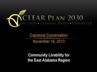 Capstone Conversation November 18, 2013