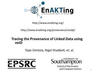 http:// www.enakting.org / http:// www.enakting.org/provenance/voidp /