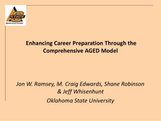 Enhancing Career Preparation Through the Comprehensive AGED Model