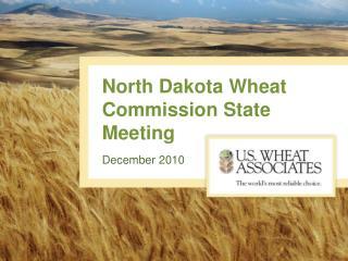 North Dakota Wheat Commission State Meeting