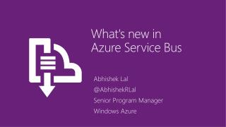 What's new in  Azure Service Bus