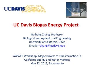 UC Davis Biogas Energy Project