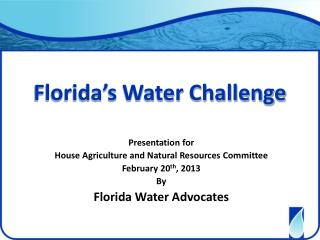 Florida's Water Challenge