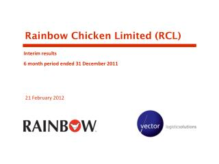 Rainbow Chicken Limited (RCL)