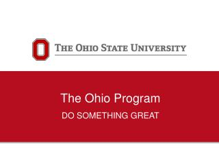 The Ohio Program