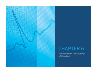 TABLE OF CONTENTS CHAPTER 6.0: The Economic Contribution of Hospitals