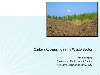 Carbon Accounting in the Waste Sector
