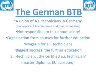The German BTB
