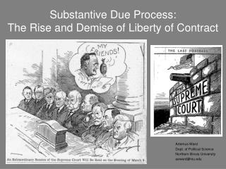 Substantive Due Process: The Rise and Demise of Liberty of Contract