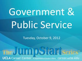 Government & Public Service
