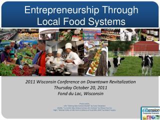 Entrepreneurship Through   Local Food Systems