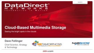 Cloud-Based Multimedia Storage