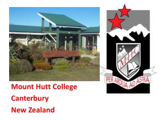 Mount Hutt College Canterbury New Zealand