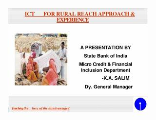 ICT FOR RURAL REACH APPROACH &