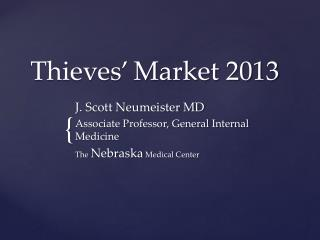 Thieves' Market 2013