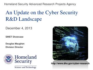 Homeland Security Advanced Research Projects Agency