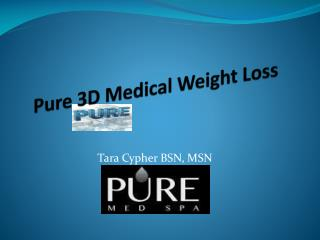Pure 3D Medical Weight Loss
