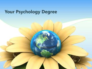 Your Psychology Degree
