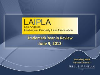 Trademark Year in Review