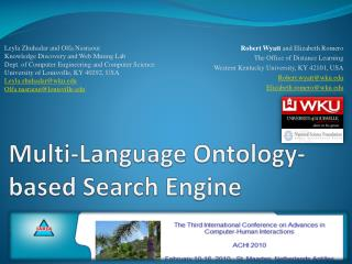 Multi-Language Ontology-based Search Engine