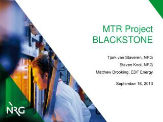 MTR Project BLACKSTONE