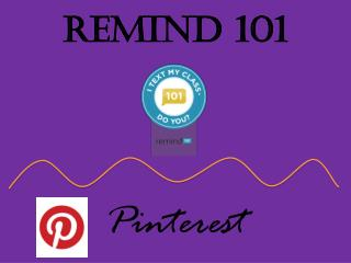 Remind 101 Pinterest