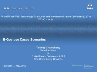E-Gov use Cases Scenarios
