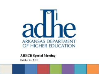 AHECB Special Meeting