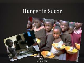 Hunger in Sudan