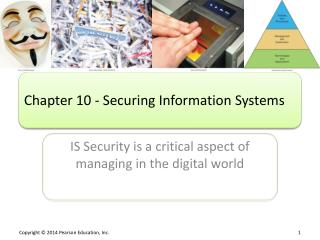 Chapter 10 - Securing Information Systems