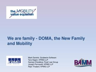 We are family - DOMA, the New Family and Mobility