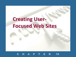 Creating User-Focused Web Sites