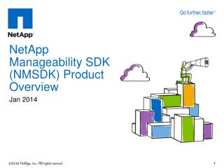 NetApp Manageability SDK (NMSDK) Product Overview