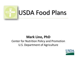USDA Food Plans