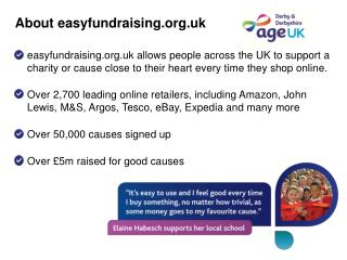 About  easyfundraising.org.uk