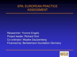 EPA - WOK sjabloon diapresentatie