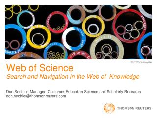 Web of Science  Search and Navigation in the Web of  Knowledge