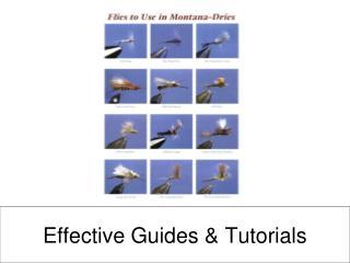 Effective Guides & Tutorials