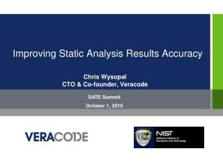 Improving Static Analysis Results Accuracy