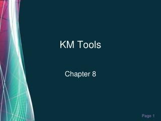 KM Tools