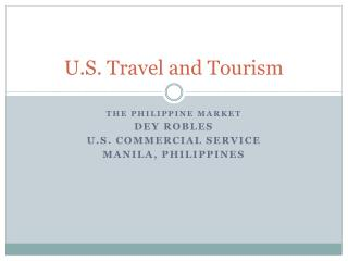 U.S. Travel and Tourism