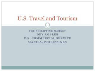 U.S. Travel and Tourism