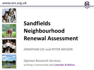 Sandfields  Neighbourhood Renewal Assessment